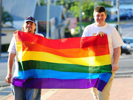 NEW IDEA: Gladstone resident Dylan Carmichael is hoping to organise a Marriage Equality Rally along Goondoon St.