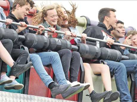 Showgoers revelled in the array of rides on offer at the Hawke's Bay Show which finished yesterday.