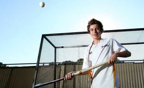 Kostya Davis, 15 has been selected into the Queensland State Hockey team. Photo: Inga Williams / The Reporter
