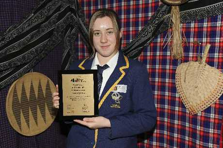SELECTED: Taradale High School's April Rowland was one of 30 students from top-earning 40-Hour Famine schools to attend a four-day leadership conference in Auckland recently.