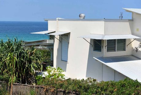 PM DIGS: Kevin Rudd house at Marcus Dunes.