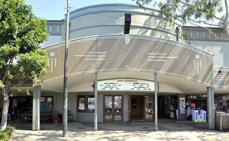 Dendy cinema in Byron Bay will be closing in October 2012' Photo Mireille Merlet-Shaw / The Northern Star