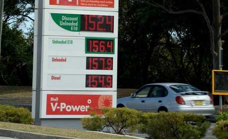 Petrol prices around the Tweed. Photo: John Gass / Daily News