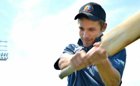 Cricketer Joel Bruun joined an elite club over the weekend.