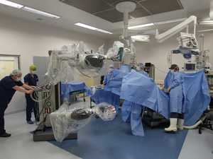 Robotic surgery at Tauranga's Grace Hospital