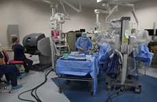 Robotic surgery at Tauranga's Grace Hospital.