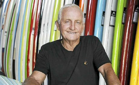 WELL-KNOWN SHAPER: Bob McTavish says retro-style boards like The Tracker are in high demand.
