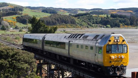 FUTURE POSSIBILITY: The Taieri Gorge train will be bringing Dunedin residents and tourists to Oamaru on November 25 on a trial run for a regular service. PHOTO/SUPPLIED