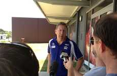 North Queensland Cowboys CEO Peter Parr announces Mackay NRL pre season game.