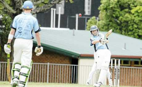 FRONT FOOT: Ballina Bears batsman Lee Pittavino will be confident of plundering more runs when his side takes on struggling Murwillumbah in the latest round of LJ Hooker League action.