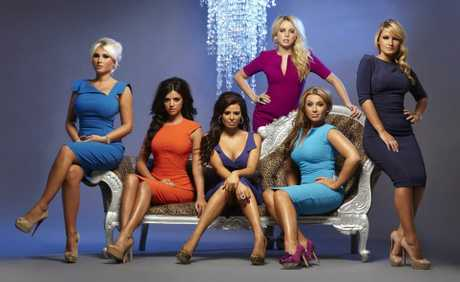 Female cast members from season 4 of The Only Way Is Essex.