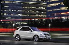 The Mercedes-Benz ML350.