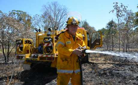 ON THE JOB: Fire Warden and Acting 1st Officer for South Nanango Rural Fire Brigade George Pike said the Queensland Rural Fire Service need your support this summer.