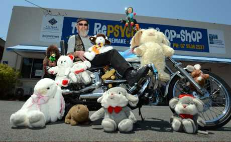 "Chris ""Kooka"" Wilson is looking forward to the toy run."