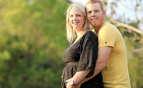 Renee King and Terry Wootton are expecting.