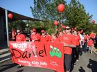 AUSTRALIA'S most famous redhead lent her support to the Day for Daniel with a personal letter of support which was read out to more than 1000 people.