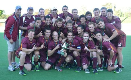 Queensland Blades open men's hockey team won this year's 2012 Australian Hockey League tournament with the help of some Tweed team members.