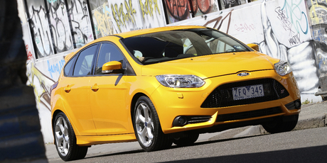 The new Ford Focus ST, launched this week in New Zealand.