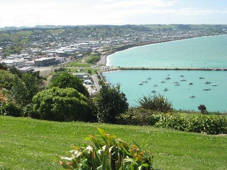 LOOKING OUT FROM FORRESTER: The Waitaki District Council Reserves and Other Land Empowering Bill has passed its second reading. PHOTO/JACQUIE WEBBY