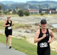 SMOOTH ROAD: The Napier Pak'n Save Half Marathon yesterday was a superbly organised event.
