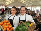 Chefs Dominque Rizzo and Dan Boller at the 2012 Festival