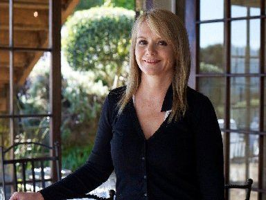 Robyn Jones relishes her life at the Mudbrick Waiheke vineyard and restaurant.
