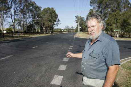 Semi-retired mechanic and motor enthusiast Jeff Newton has had enough of hoons leaving their mark on the roads. Photo Vicki Wood / Caboolture News