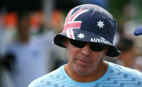 "A guest speaker at the Kirra rally will be world champion surfer Wayne ""Rabbit"" Bartholomew photographed at the 2009 Australia Day Paddle Out when he was awarded the order of Australia."