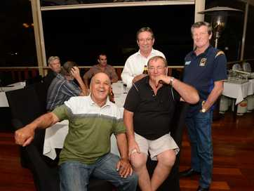 Rugby League greats visit Gympie to talk footy and horse racing.