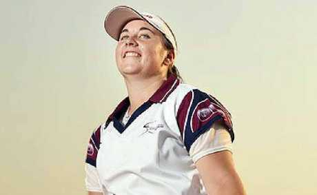 QUEENSLANDER!: Sarah Ryder will represent the state under-17 softball side at the nationals.