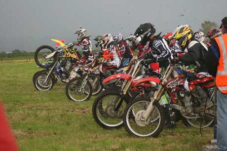 MUD LARKS: The Otumoetai College motocross team had a successful time at the recent Hauraki Plains College Moto X Invitation Tournament, winning the school's first major motocross title.