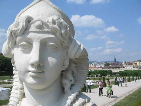 CLASSIC: The Belvedere Palace gardens are a place of enchantment.Maestros of music were nurtured by the majesty and beauty of Vienna.