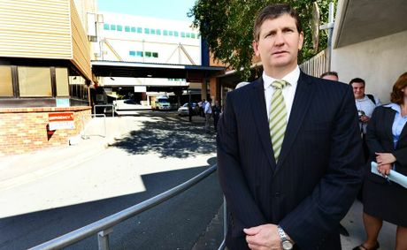 Health Minister Lawrence Springborg's office has dismissed a claim by MP Jo-Ann Miller that refusing to publish two reports that detail plans to privatise Ipswich Hospital.