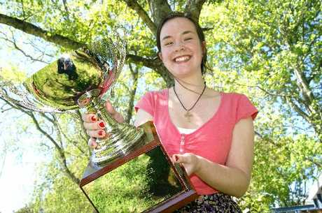 Young achiever Shannon Couper reigns supreme in national speech competition