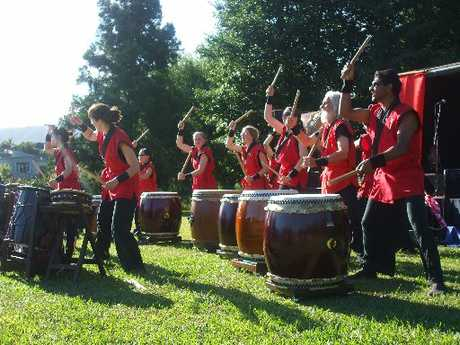 The Wai Taiko drum group will perform at Te Puna Quarry amphitheatre on Sunday as part of Quarryfest