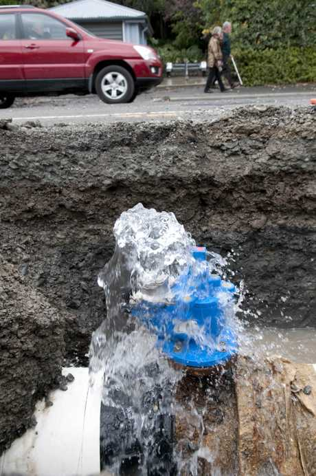 water main under repair/ File image