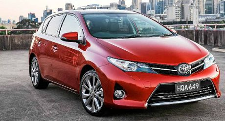 Toyota's new top-of-the-range Corolla.