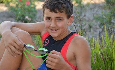 Warwick West State School student Brendan Hoffman has made the Darling Downs team in aquathon.