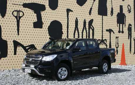 Holden Colorado: For work or play.