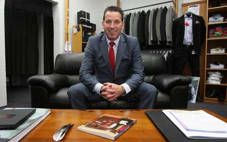 Molloy's Menswear owner Jason Dovey says launching a website 18 months ago was one of the best business decisions he ever made.