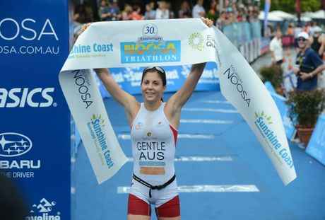 2012 Noosa Triathlon Elite women's winner Ashleigh Gentle.