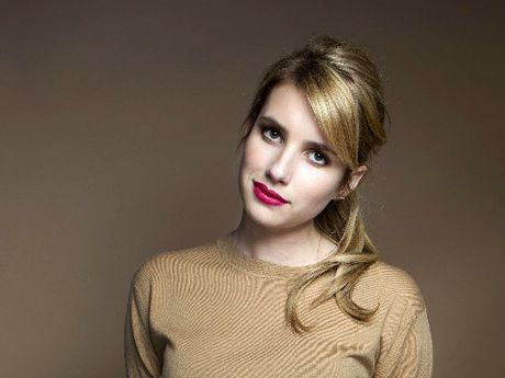 CHIC: Actress Emma Roberts has rapidly become a fashion favourite.