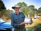 Macadamia grower Les Gain is the winner of the Norman R Greber OAM Memorial Trophy at the 2012 International Macadamia Symposium.