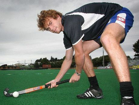 Tauranga's Andy Hayward is one of nine Black Sticks players who hope to play in the new Indian hockey league. Photo / Joel Ford