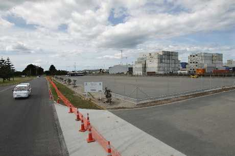 A little bit of sealing is all that&#39;s left to finish the Tauranga City Council&#39;s new boat storage yard in Sulphur Point. 