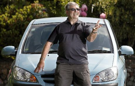 Peter Bach believes having a car gives him freedom. Photo / File