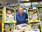 Toys form the 80&#39;s proving to be very popular for shoppers. Toyworld sales assistant Michelle Hinger with some of the toys from that period.