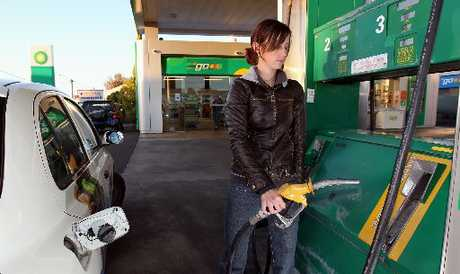 Petrol prices have jumped 11 cents.
