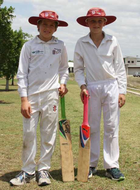 BLACKWATER BILBIES: Under-13's Thomas McKenzie and Finn Smith were instrumental in the Bilbies defeat of the Emerald Brothers at the weekend.