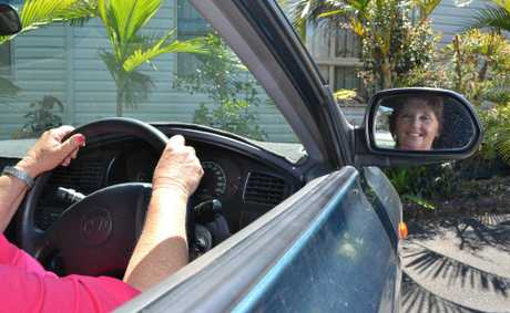 DEDICATED DRIVER: Julie Newport of Doonbah loves driving 'her people' to their specialist and medical appointments. Photo Samantha Elley / Rivertown Times